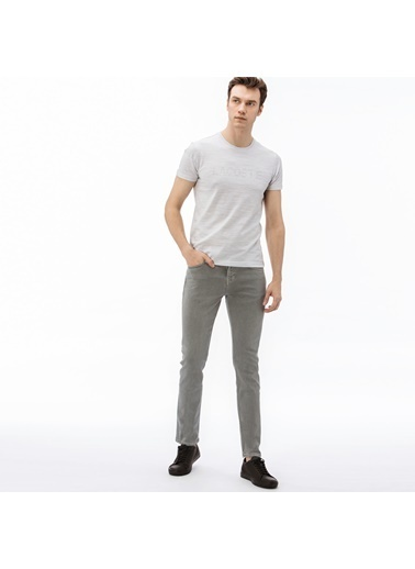 Lacoste Erkek Slim Fit Pantolon 3223019 Gri